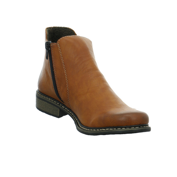Rieker Damen Z4994-24 Brauner Synthetik Boot