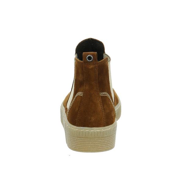 Gabor Damen 53-731-14 Brauner Veloursleder Chelsea Boot