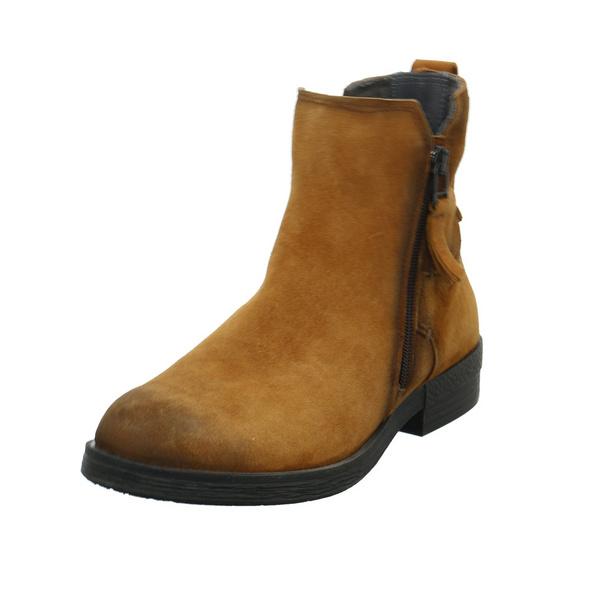 Camel Active Damen Step Brauner Veloursleder Boot