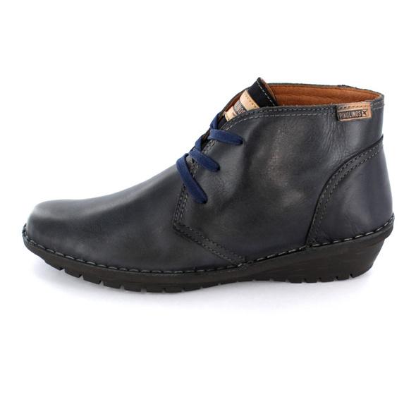 Gerry Weber Damen Lilli 30 Blauer Leder/Textil Boot