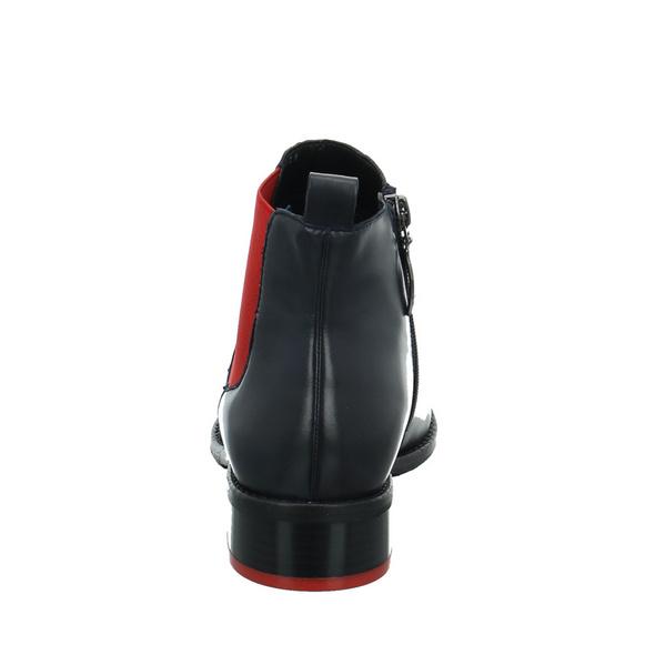 Gerry Weber Damen Calla 33 Blauer Leder/Textil Boot