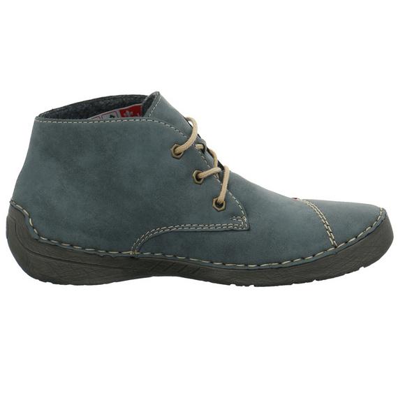Rieker Damen 52540-14 Blauer Synthetik Boot