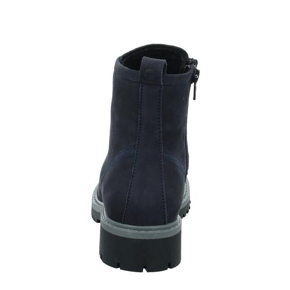 Tamaris Damen 25886-805 Blauer Veloursleder Boot