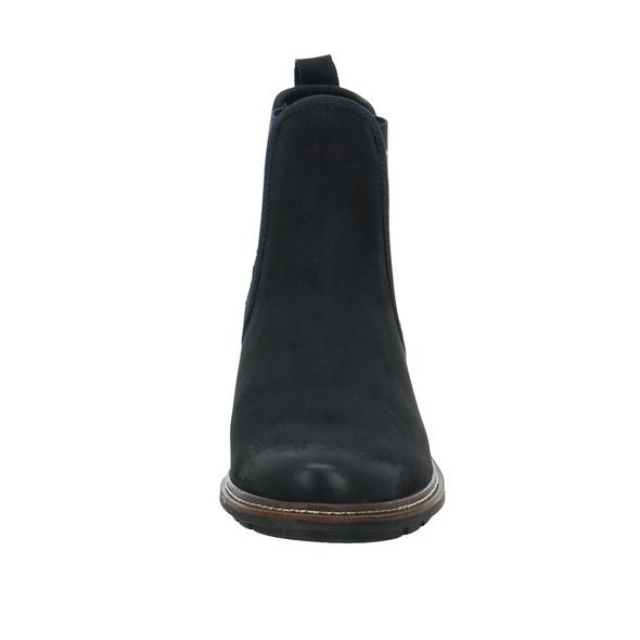 Tamaris Damen 25440-805 Blauer Veloursleder Chelsea Boot