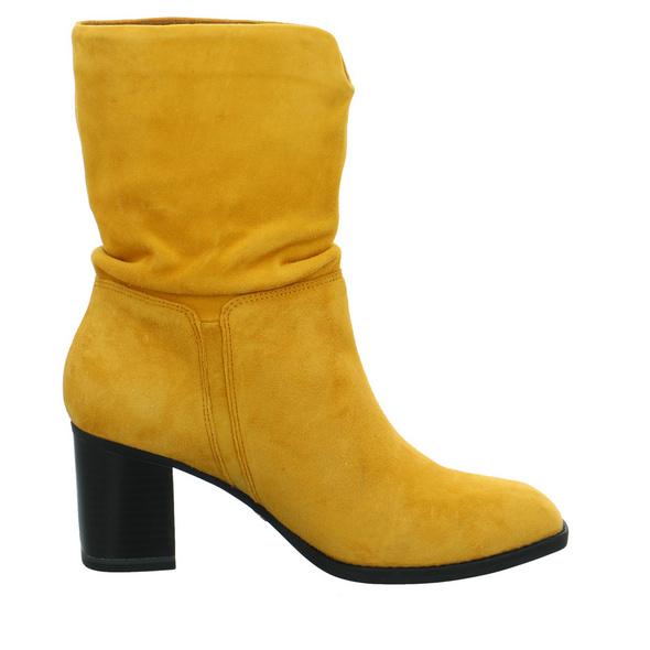 Tamaris Damen 25337-627 Gelbe Veloursleder Stiefelette