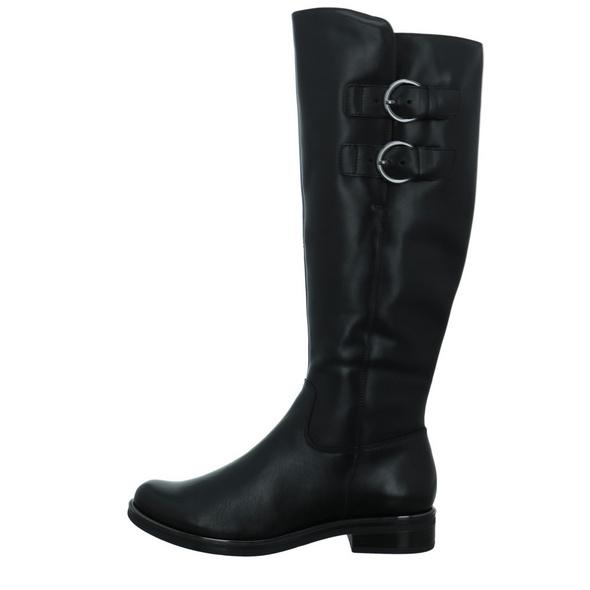 Caprice Damen 25530-022 Schwarze Glattleder Stiefel