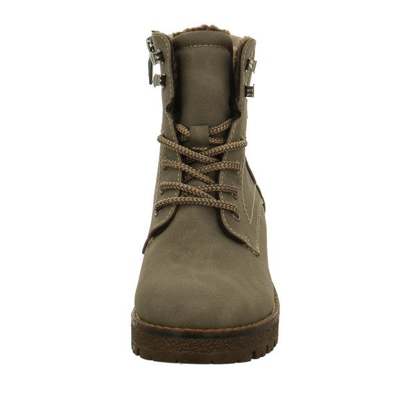 Tom Tailor Damen 7991603 Graue Synthetik/Textil Boots
