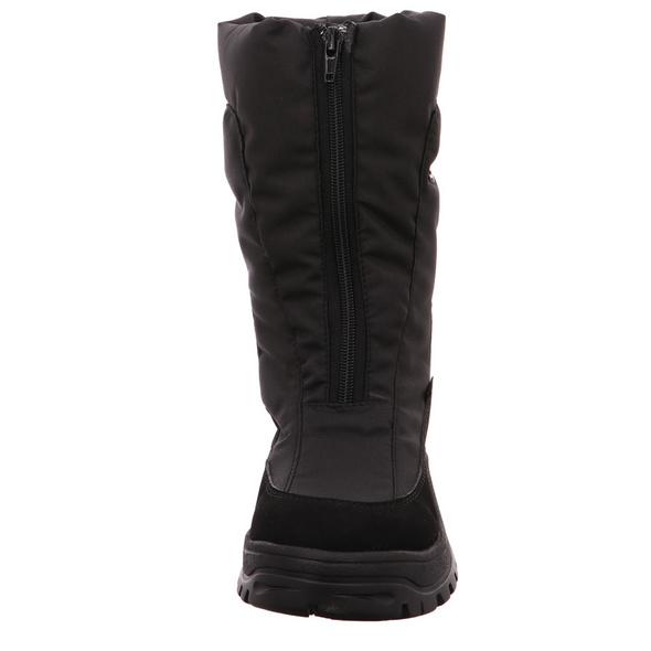 Vista Damen 53-827 Schwarze Textil Schneestiefel