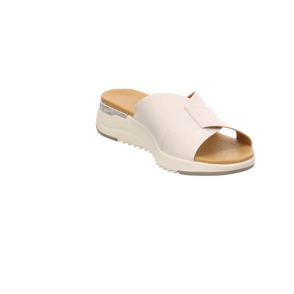 Caprice Damen 27200-122 Weiße Lack Pantolette