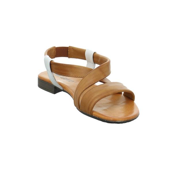 Marko Damen 225130 Braune Glattleder Sandalette