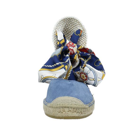 Vidorreta Damen 14229SRCLJEANS Blaue Leder/Textil Sandalette