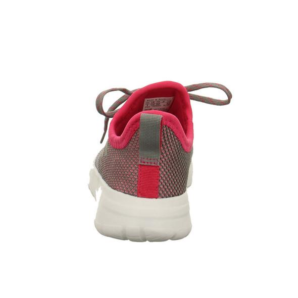 Adidas Kinder Life Recer Reburn Kid Graue Textil Sneaker