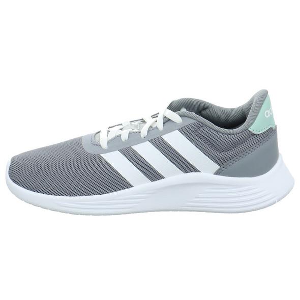 Adidas Kinder Lite Racer 2.0 Grauer Textil Sneaker