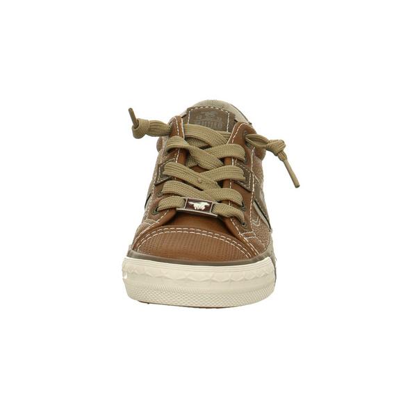 Mustang Kinder 5024302-307 Braune Synthetik Sneaker