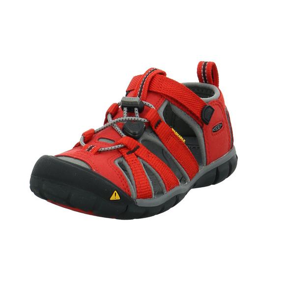 Keen Kinder Seacamp II CNX Rote Materialkombinierte Sandale