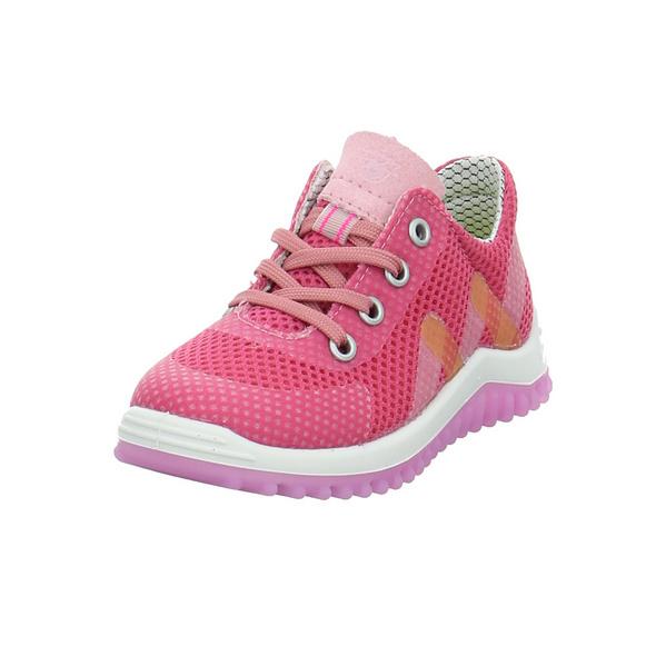 Ricosta Kinder Pero Rosafarbener Textil Sneaker