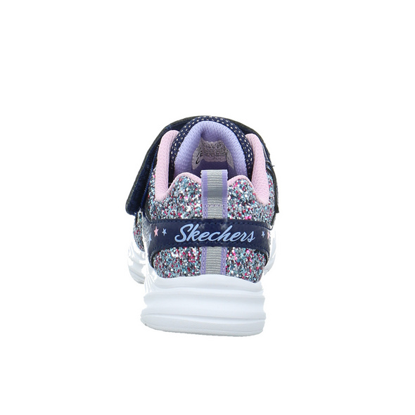 Skechers Kinder Glimmer Kicks Glitte Blaue Synthetik Sneaker