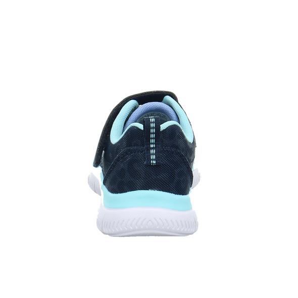 Skechers Kinder Summits Worth Wild Blaue Mesh Sneaker
