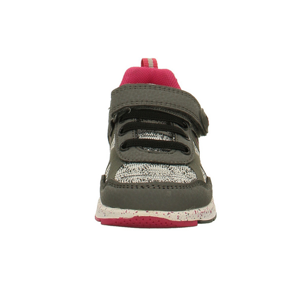 Lurchi Kinder Liborio Grauer Glattleder Sneaker