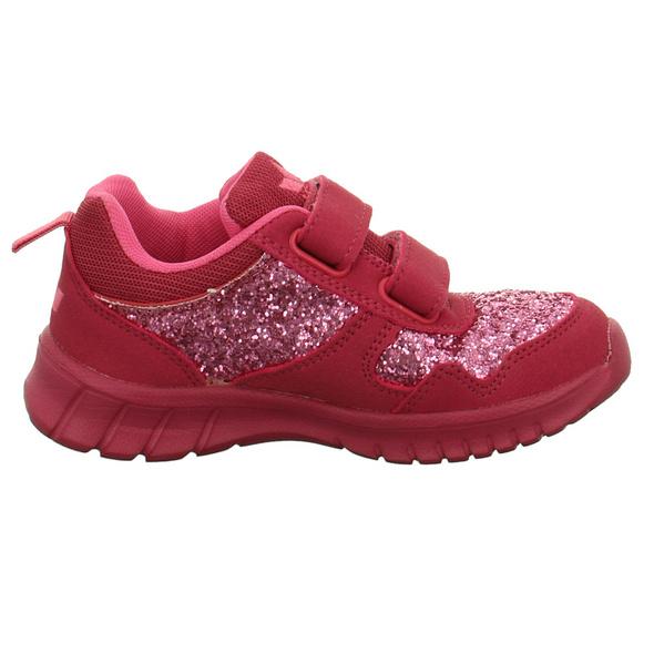 Lico Kinder Jolly V Pinke Synthetik Slipper