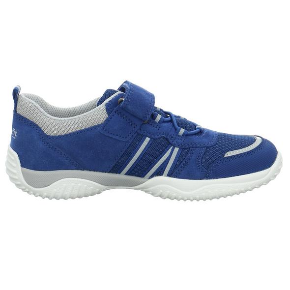 Superfit Kinder 06383-80 Blaue Synthetik/Textil Sneaker