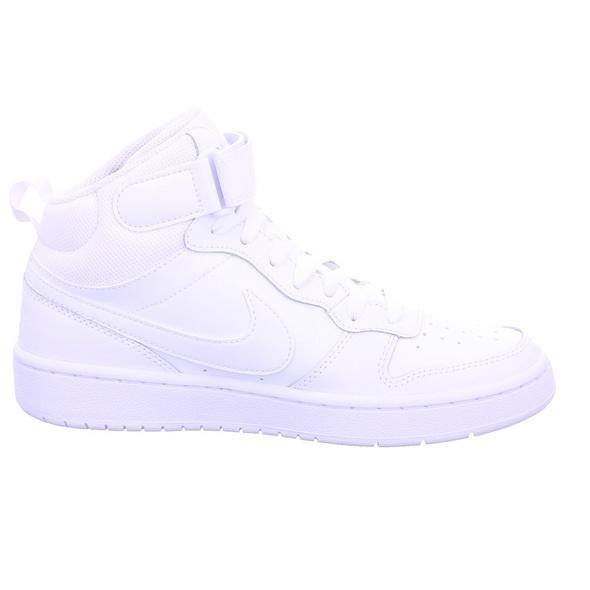 Nike Kinder Court Borough Mid 2 Weiße Glattleder Sneaker