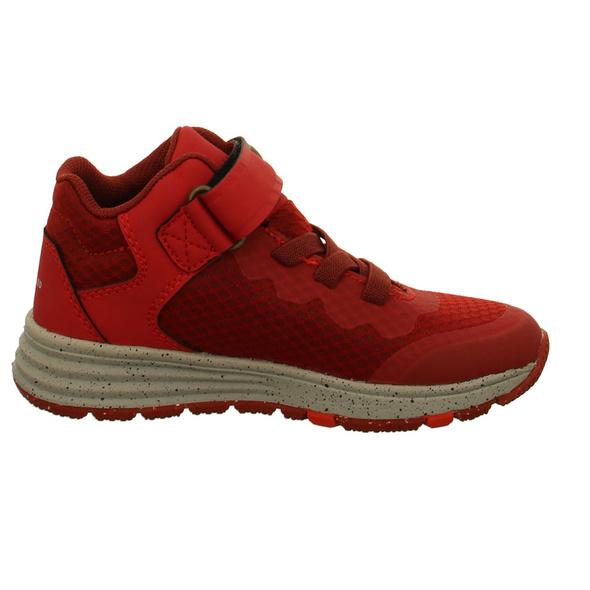Vado Kinder Ben Eco Rote Textil Schnürboots
