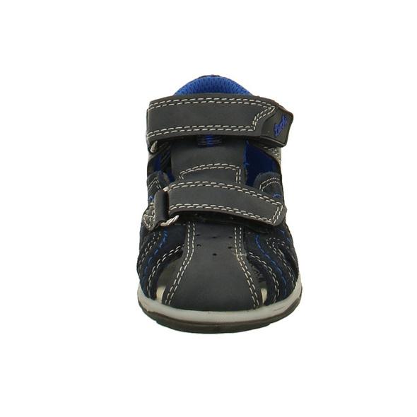 Lurchi Kinder John Blaue Glattleder Sandale