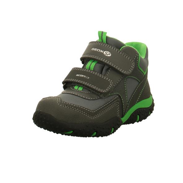 Geox Kinder J Baltiv Graue Synthetik/Textil Boots