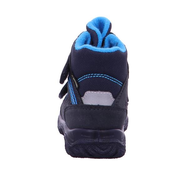 Superfit Kinder Husky 1 Blaue Mesh Schneeboots