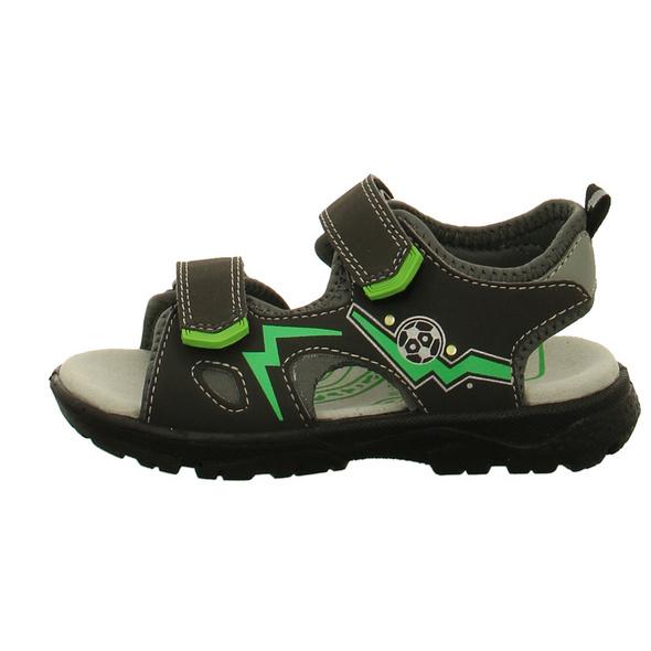 Lurchi Kinder Kuby Schwarze Synthetik/Textil Sandale