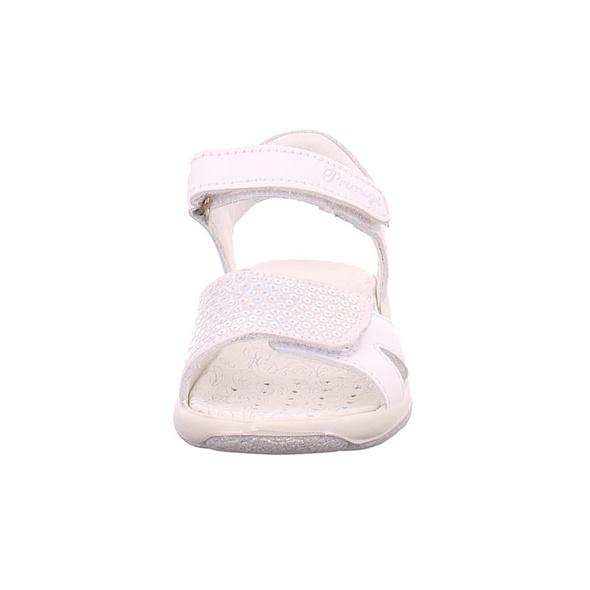 Primigi Mädchen 3389022 Weiße Glattleder Sandale
