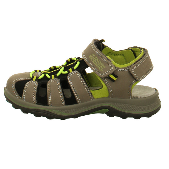Imac Kinder 1019220 Graue Nubukleder Sandale