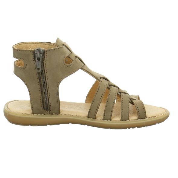 Sabalin Kinder 53-2993 Braune Veloursleder Sandale