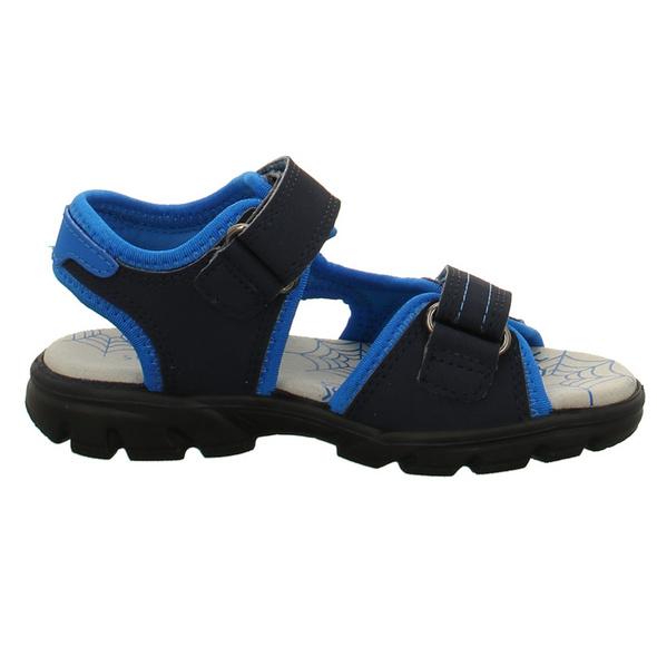 Superfit Kinder Scorpius Blaue Synthetik/Textil Sandale