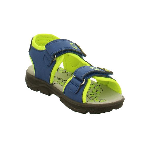 Lurchi Kinder Klaus Blaue Synthetik/Textil Sandale