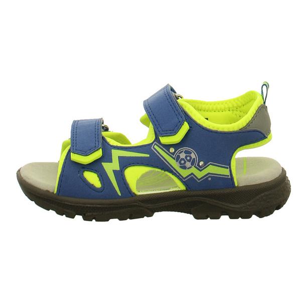 Lurchi Kinder Kuby Blaue Synthetik Sandale