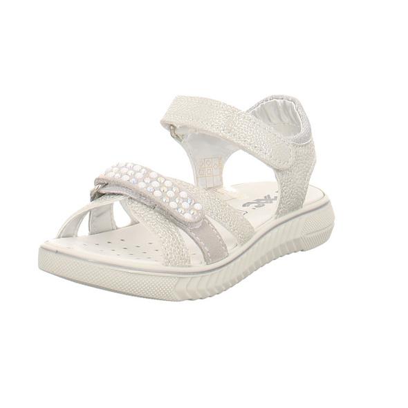 IMAC Kinder 1019172 Silberne Synthetik Sandale