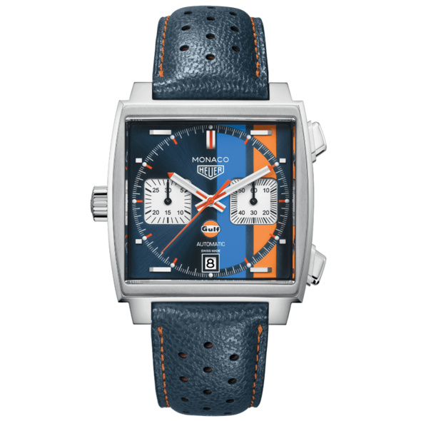 TAG Heuer Monaco Automatik Chronograph SPECIAL GULF EDITION