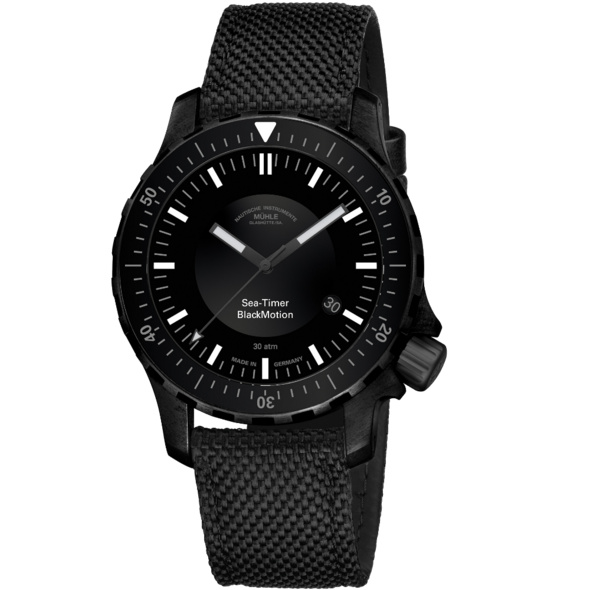 Mühle Glashütte Sea-Timer BlackMotion