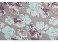 Schal - Pastel Flowers
