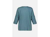 Blusenshirt, Oversized, vorne Web, Jerseyrücken