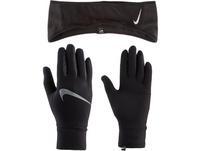Nike Essential Set Stirnband und Handschuhe Damen