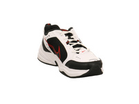 Nike Herren Air Monarch IV Weißer Synthetik/Textil Sneaker