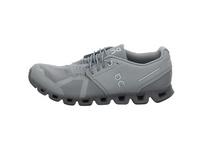 On Herren Cloud Monochrome grauer Textil Sneaker