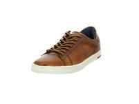 Bugatti Herren Orazio Braune Glattleder Sneaker