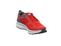 Skechers Herren Gor Run Consistent Fleet Rush Roter Textil Sneaker