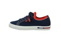 S.Oliver Herren 13620-805 Blauer Textil Sneaker