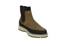 Camel active Herren Pilgrim Brauner Materialkombinierter Boot