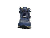 Cetti Herren C-1048 Blauer Glattleder Sneaker